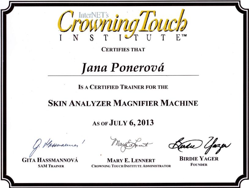 SAM certifikat